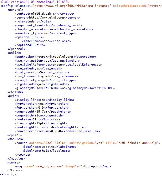 Скачать файл config xml